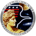 Mission patch Apollo 17