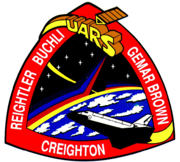 Mission patch Space Shuttle STS-48