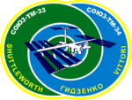 Mission patch Sojus TM-34