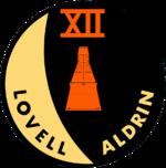 Mission patch Gemini 12