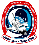 Mission patch Space Shuttle STS-9