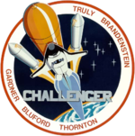 Mission patch STS-8 Space Shuttle Challenger