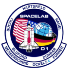 Mission patch STS-61A