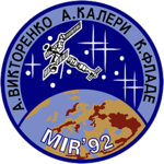 Mission patch Sojus TM-14