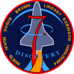 Mission patch Space Shuttle STS-95