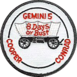 Mission patch Gemini 5