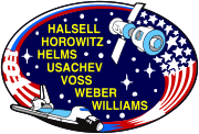 Mission patch Space Shuttle STS-111