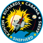 Mission patch Space Shuttle STS-41