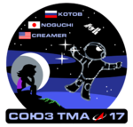 Sojus TMA-17 Missions-patch