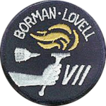 Mission patch Gemini 7
