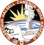 Mission patch Space Shuttle STS-74