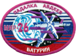 Mission patch Sojus TM-28