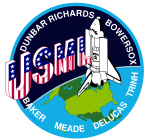 Mission patch Space Shuttle STS-50