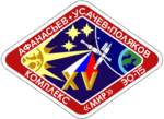Mission patch Sojus TM-18