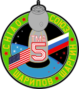Mission patch Sojus TMA-5