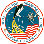 Mission patch Space Shuttle STS-76