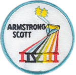 Mission patch Gemini 8