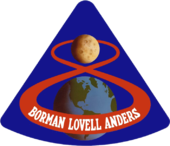 Mission patch Apollo 8