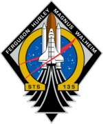 Space Shuttle  STS-135 mission patch
