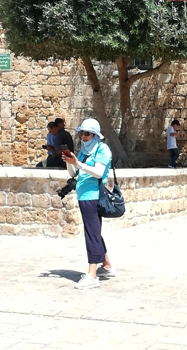 ich weiß nicht, warum mich diese japanische Lady faszinierte. Vielleicht war es einfach ihr Mundschutz...