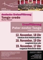 """""""Tango credo"""" und """"Pater noster Tango"""" begeisterten in St. Raphael - Kath. Pfarrei St. Anna Biebertal"""