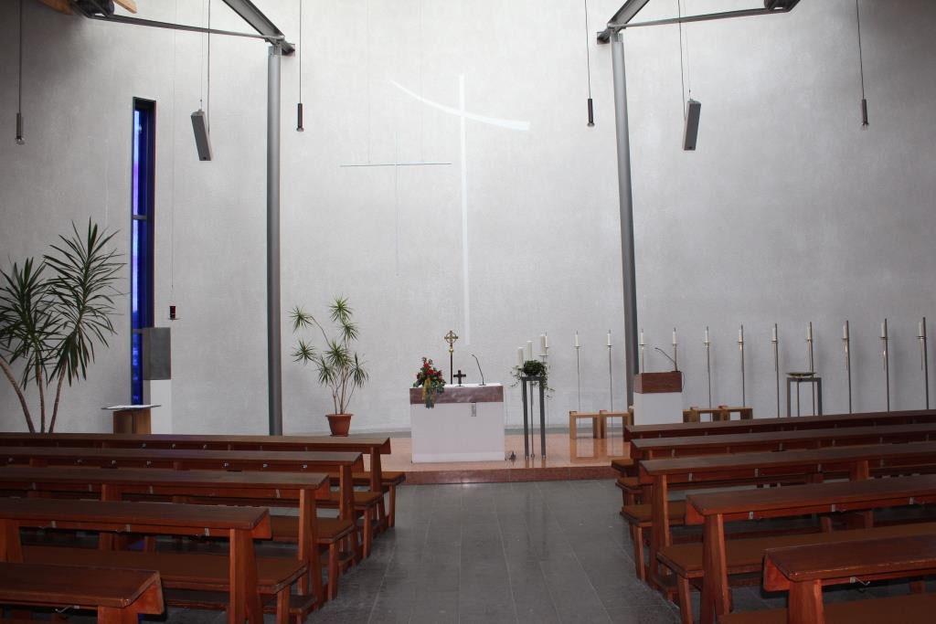 St. Anna in Biebertal-Rodheim - Innenansicht