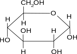 Glucose-Molekül