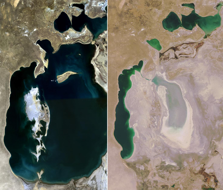Aralsee Austrocknung