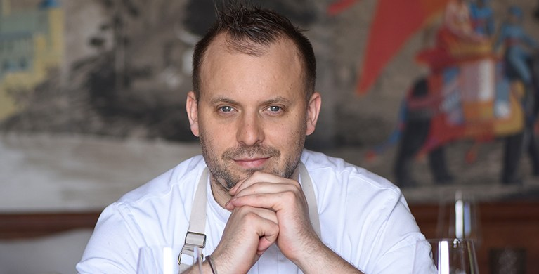 Chef David Toutain