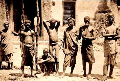 Esclaves début du XXème siècle