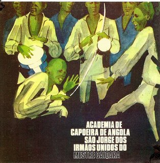 Mestre Caiçara - Academia de capoeira de angola São Jorge dos Irmãos Unidos cd
