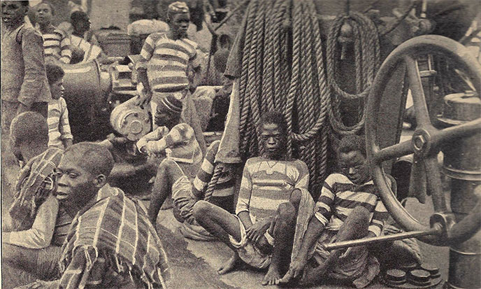 Esclaves au début XXème Siècle