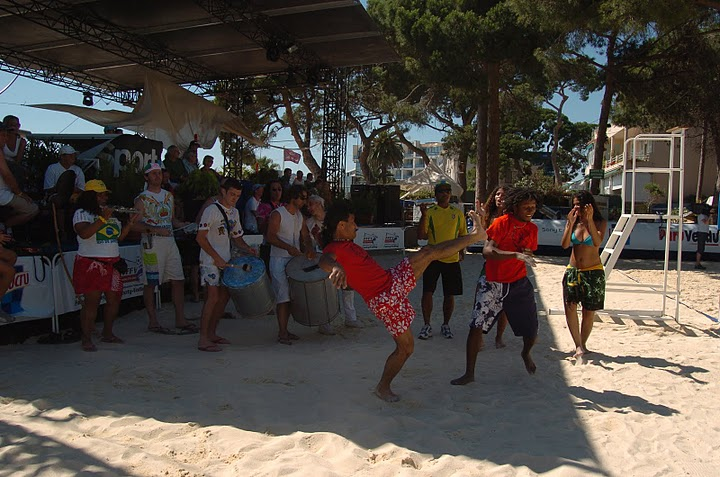 championnat monde footy volley 2005 Capoeira angola ceca 2
