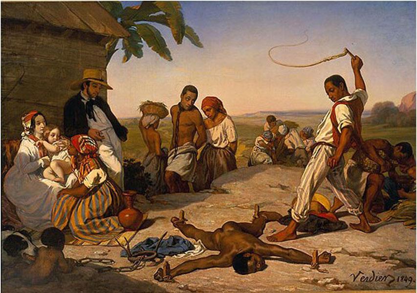 Châtiments réservés aux esclaves