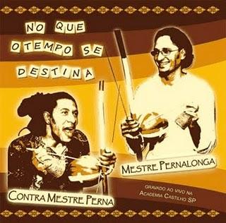 Cd Mestre Pernalonga & contra Mestre Perna - No que o tempo se destina