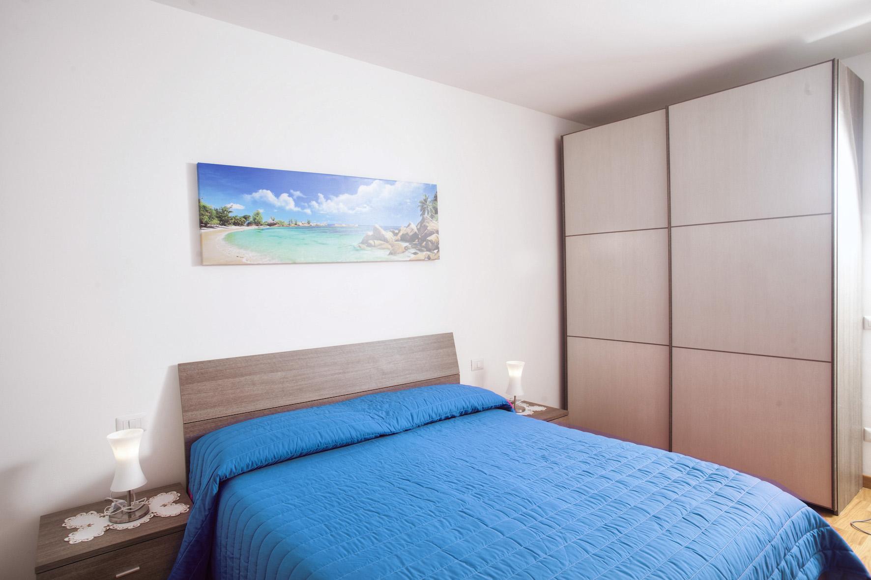 Schlafzimmer 1 Ferienwohnung Lidia