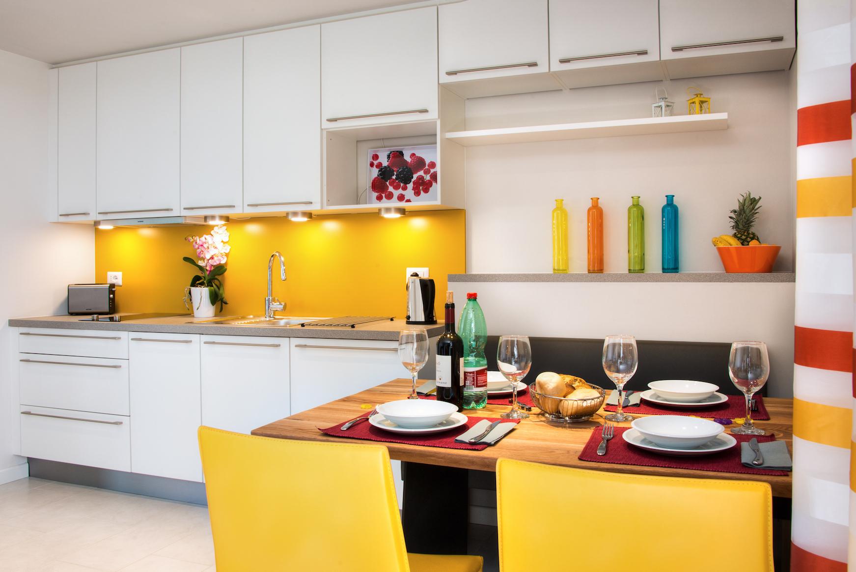 Küche Ferienwohnung Puccini