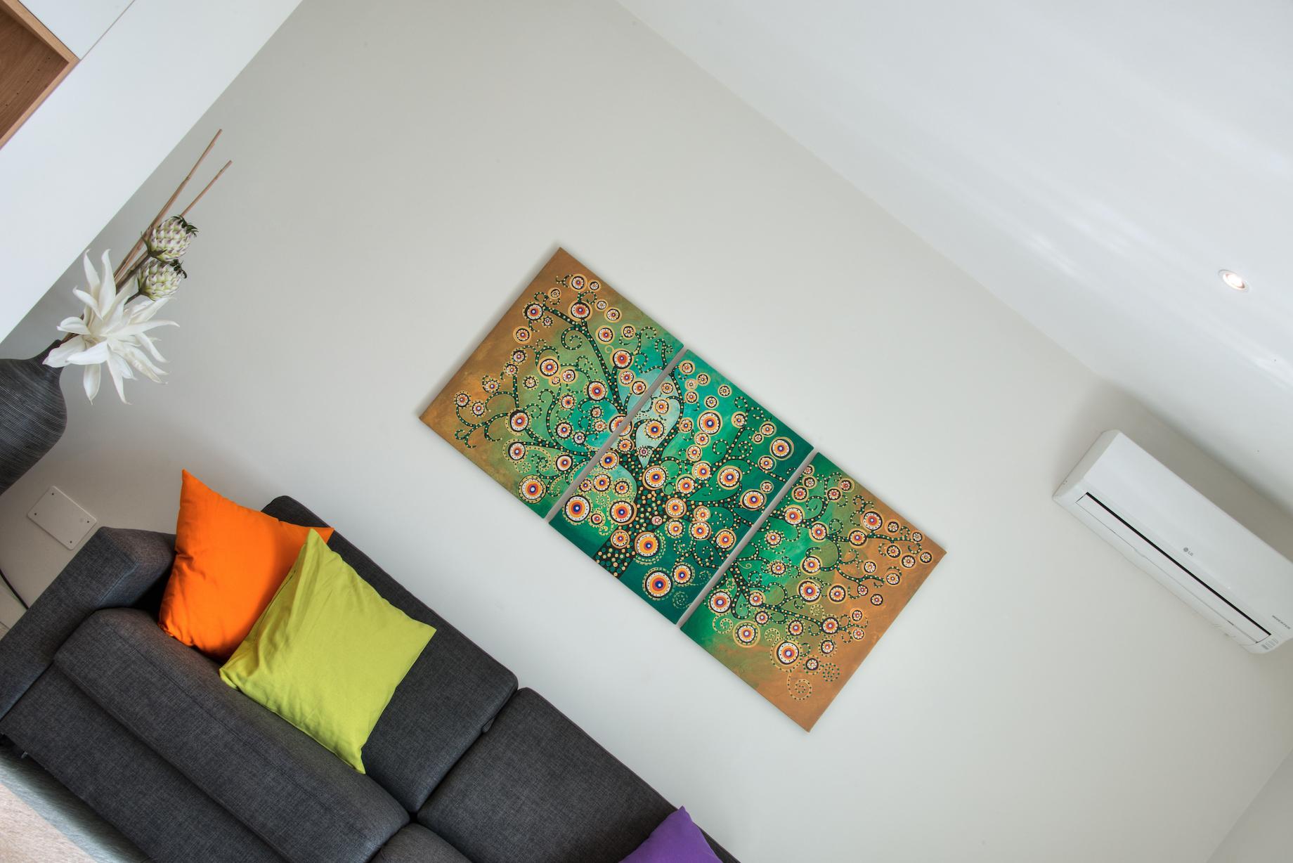 Wohnzimmer Ferienwohnung Vivaldi