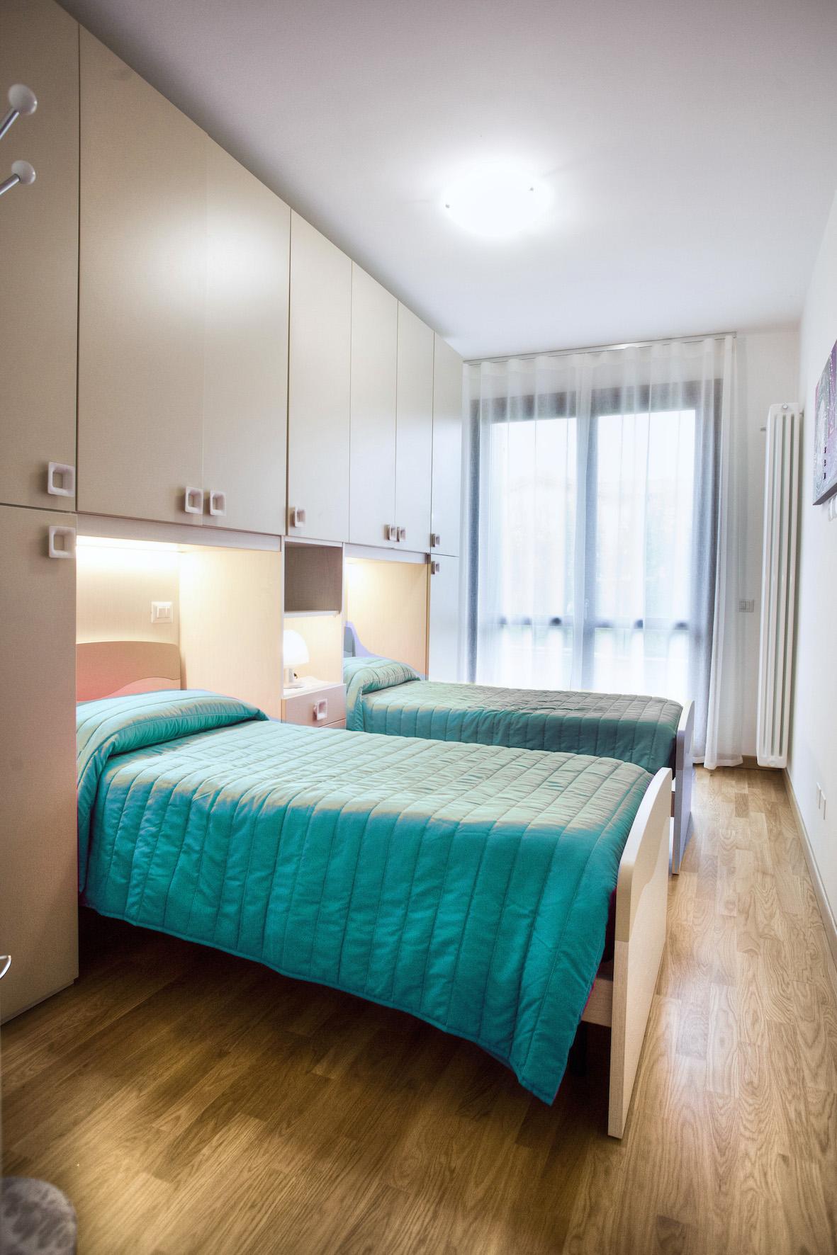 Schlafzimmer 2 Ferienwohnung Lidia