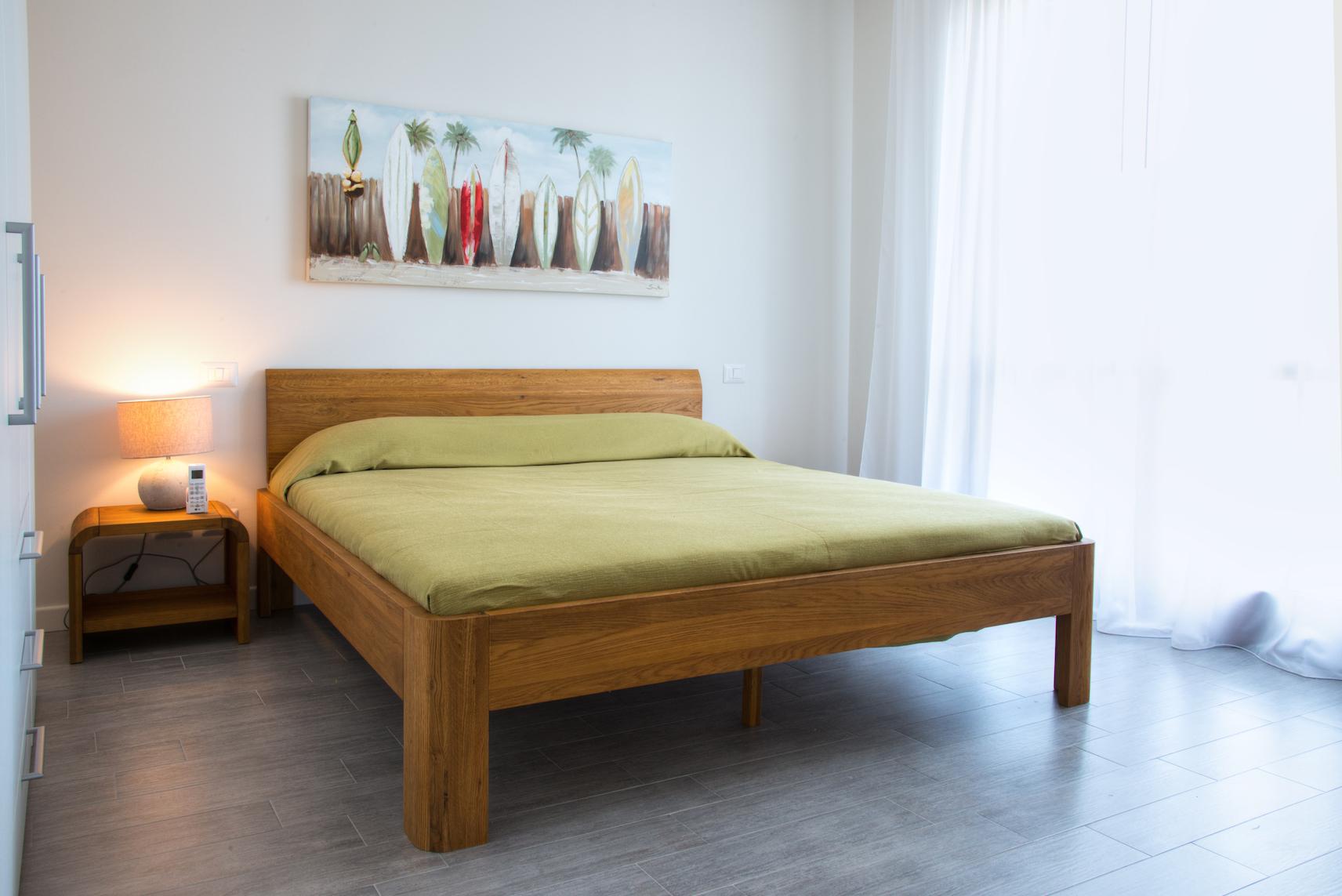 Schlafzimmer Ferienwohnung Puccini