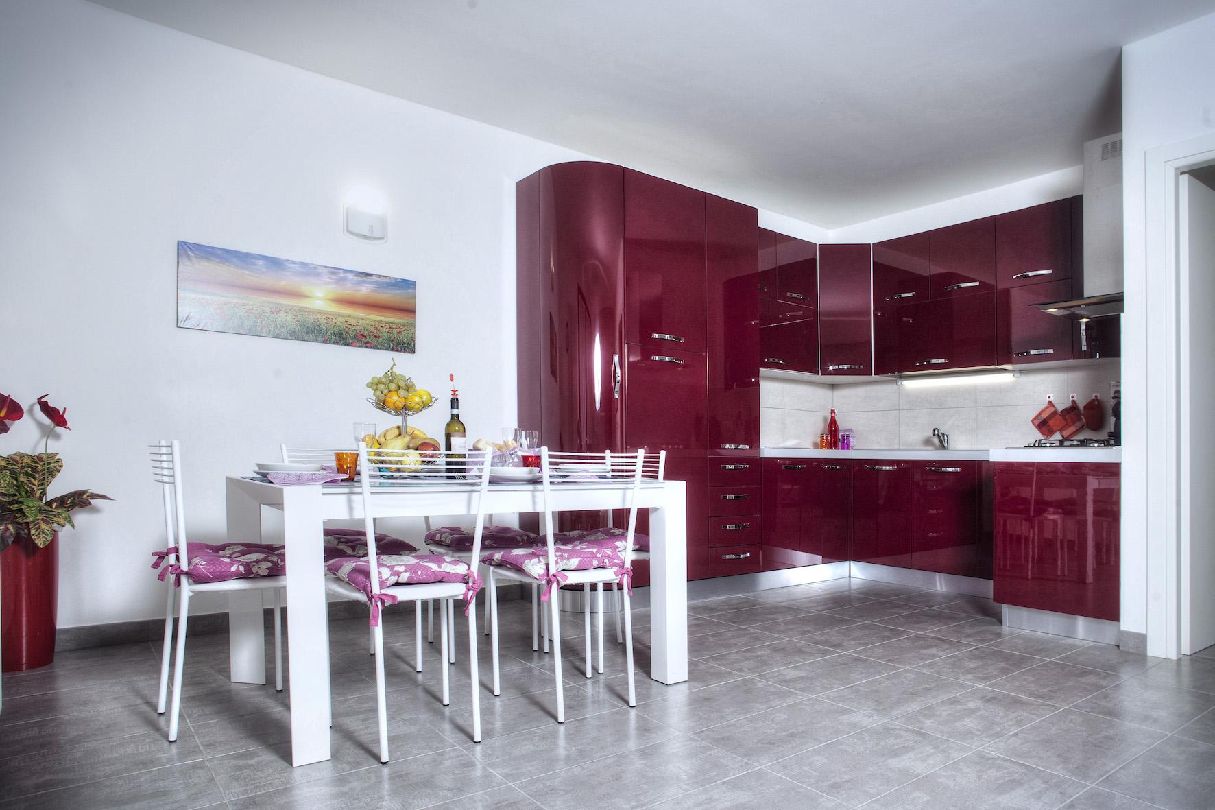 Küche Ferienwohnung Lidia
