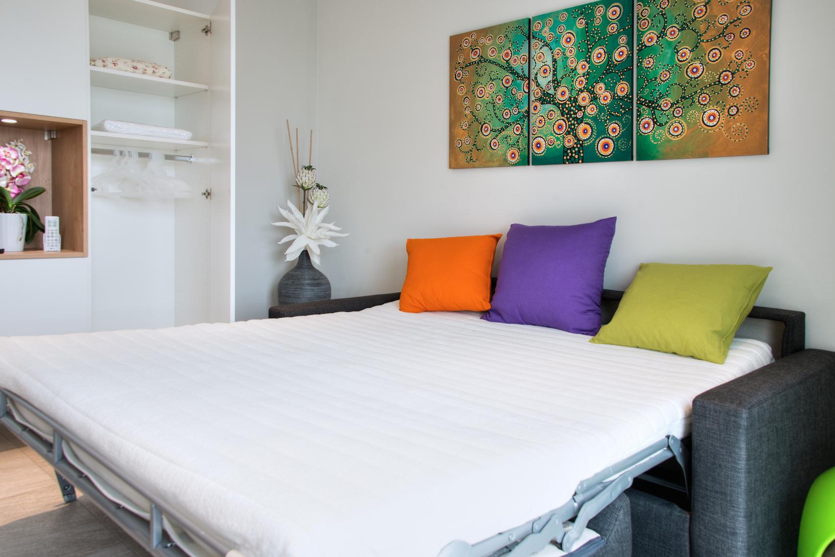 Divano letto Appartamento Puccini