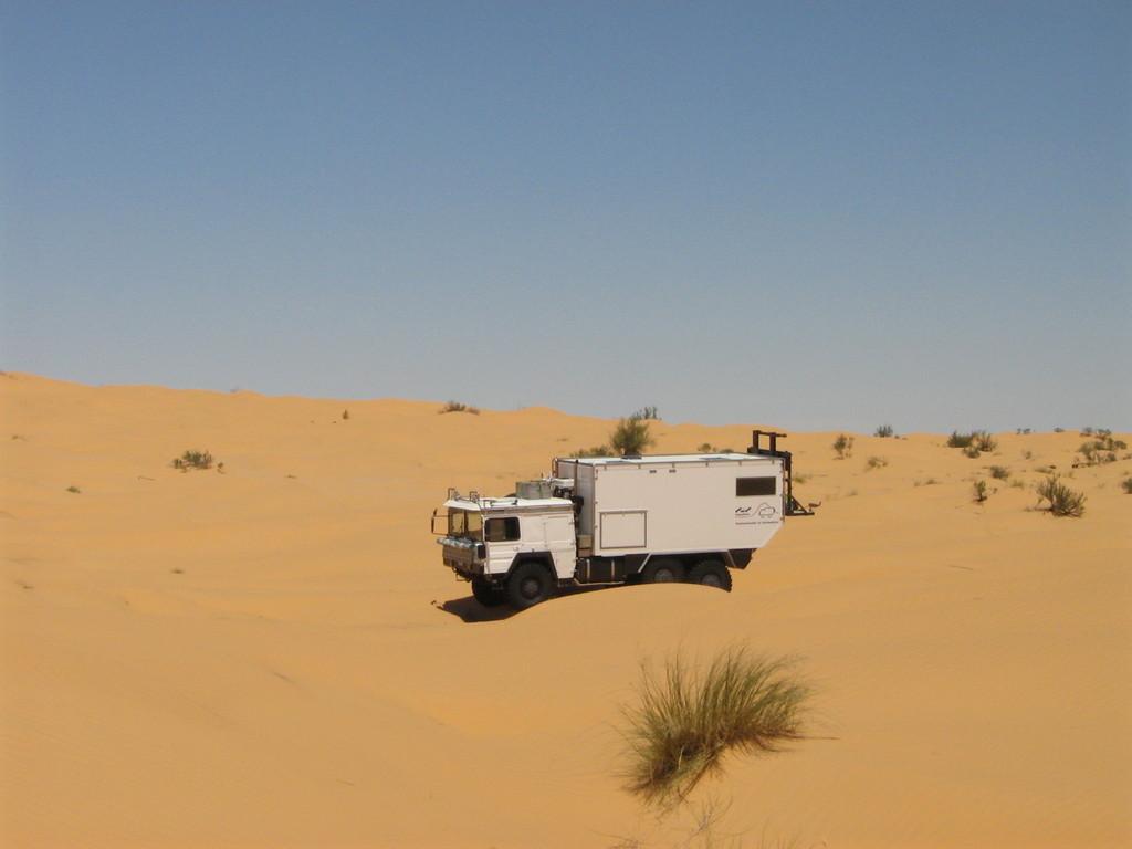 Auch eine Art die Sahara zu erkunden