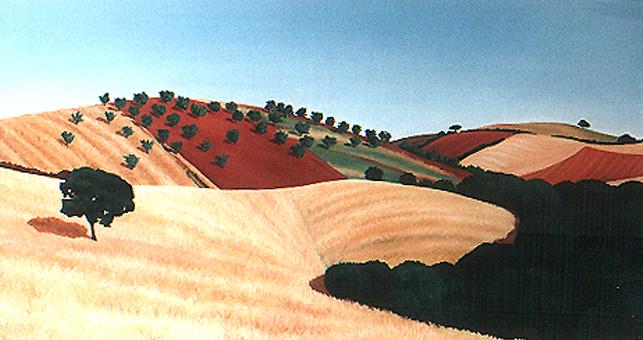 <b>Uliveto</b><br>Öl/Leinwand | 1994 | 80 x 150 cm<br><small>(Privatbesitz)