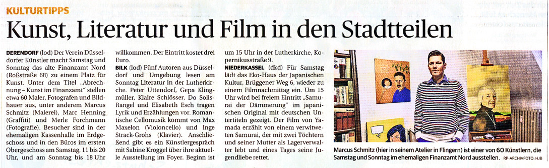 © Rheinische Post, Holger Lodahl (Text), Hans-Jürgen Bauer (Foto), 11.09.2014