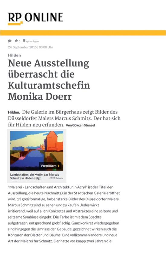 © Rheinische Post, Gökcen Stenzel, 24.09.2015