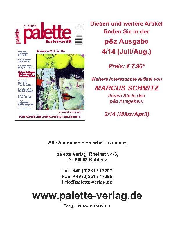 © Marcus Schmitz für Palette & Zeichenstift 2014_1
