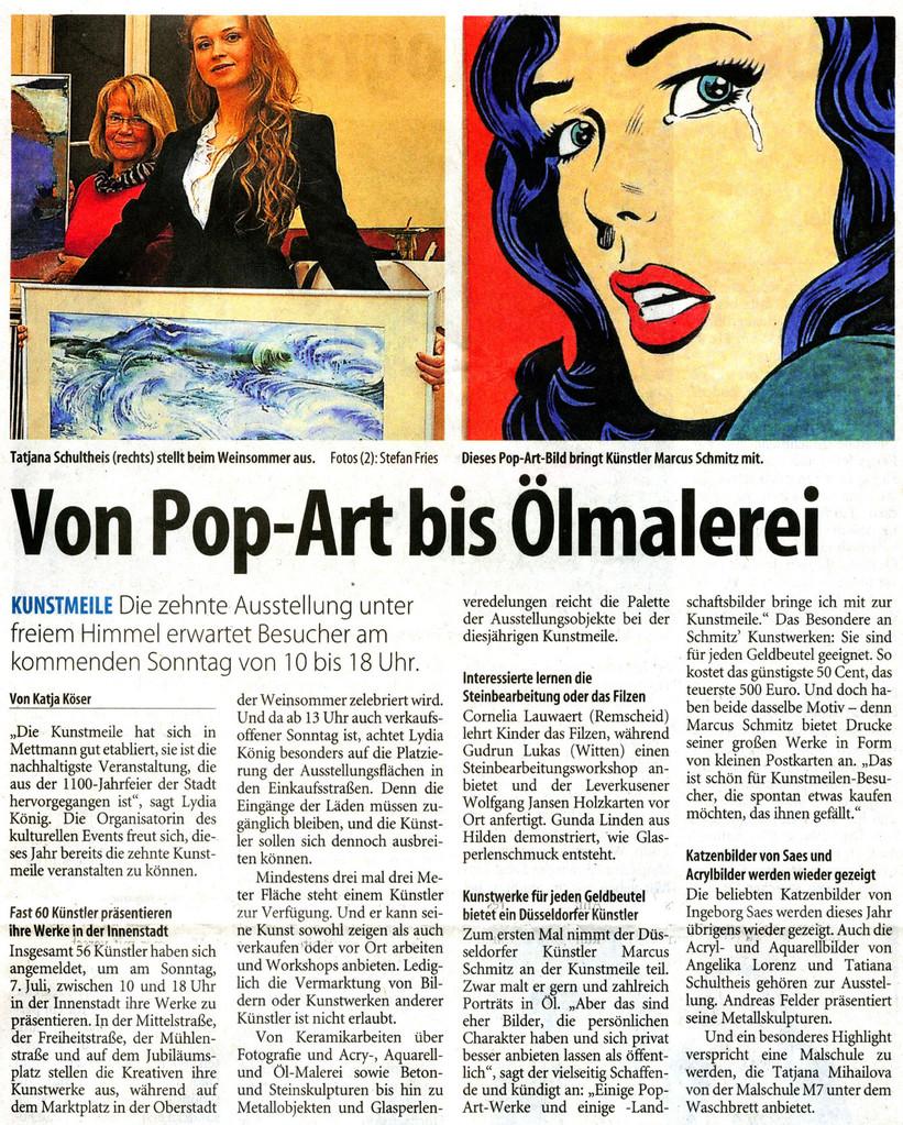 © Westdeutsche Zeitung, Katja Köser, 03.07.2013