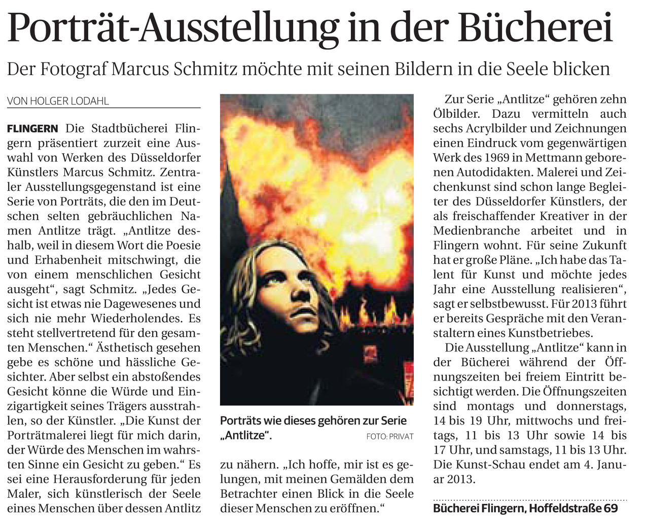 © Rheinische Post, Holger Lodahl, 23.11.2012