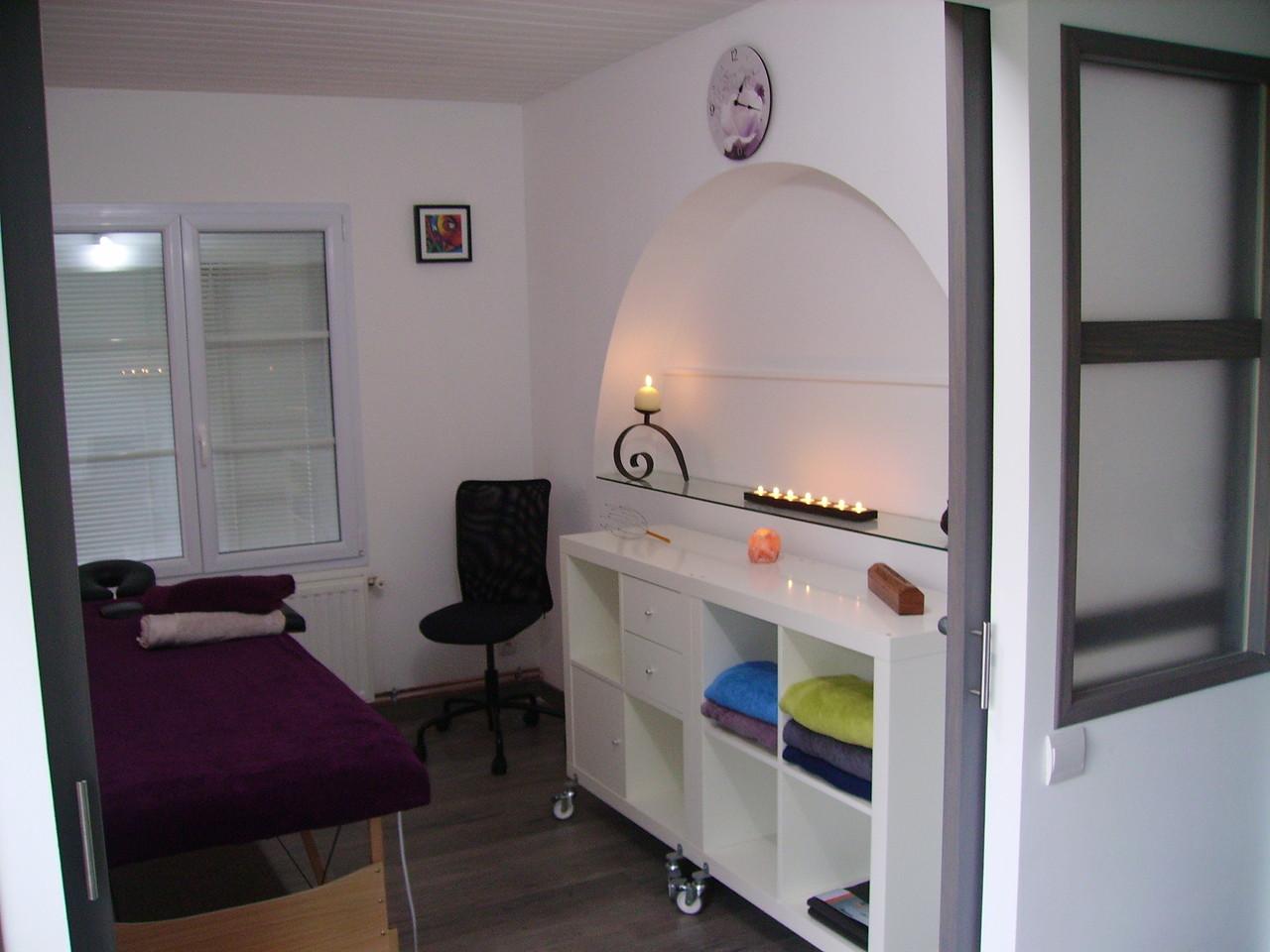 salle de massage relaxant zen